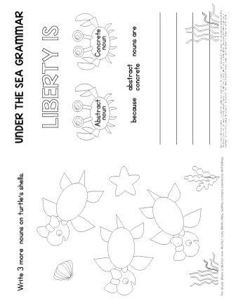 abstract nouns exercises worksheet