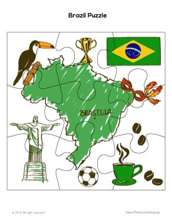 brazil activities ks1