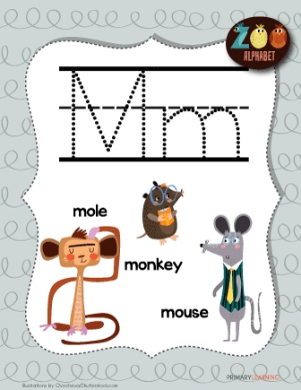 letter m animals