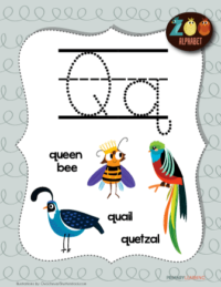 letter q animals