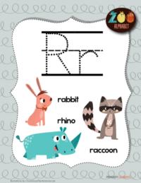 letter r animals