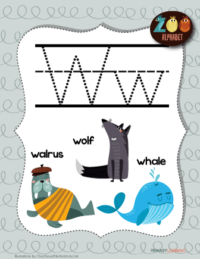 letter w animals