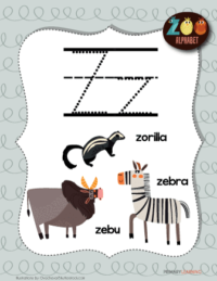 letter z animals