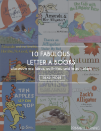 letter a books