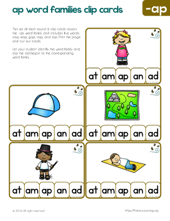 words with short a vowel