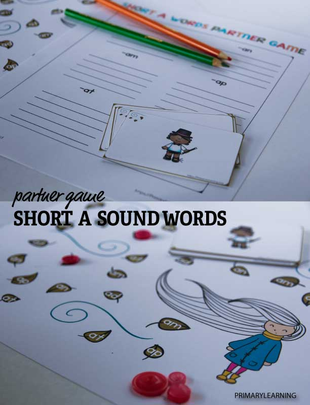 short a sound words