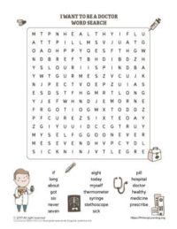 doctor word search