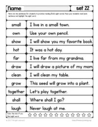 dolch sight word readers