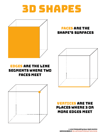 parts of 3d shapes