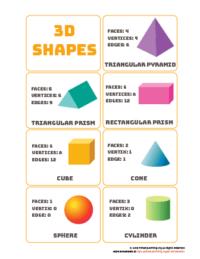 printable 3d shapes