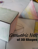 Geometric Nets of 3D Shapes