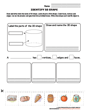 cylinder worksheet