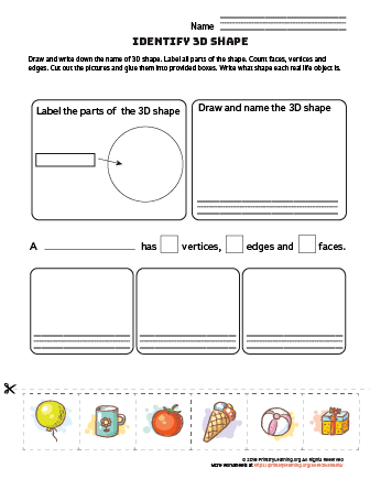 sphere worksheet