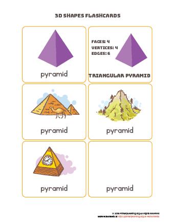 Pyramid flashcards