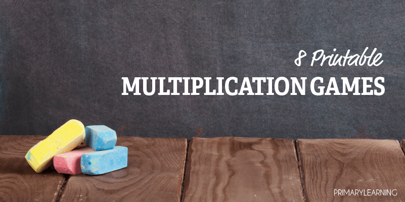 printable multiplication games