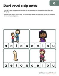 eg words clip cards