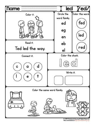 led worksheet