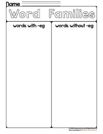 eg words for kids