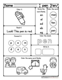 worksheet pen