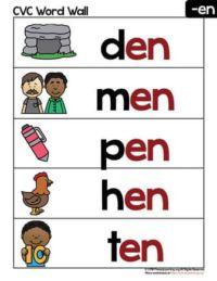 en words cards