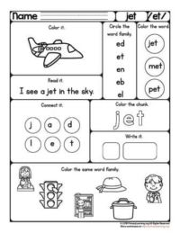 et family worksheet