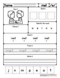 met worksheet