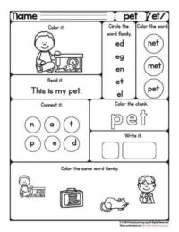 et word worksheet