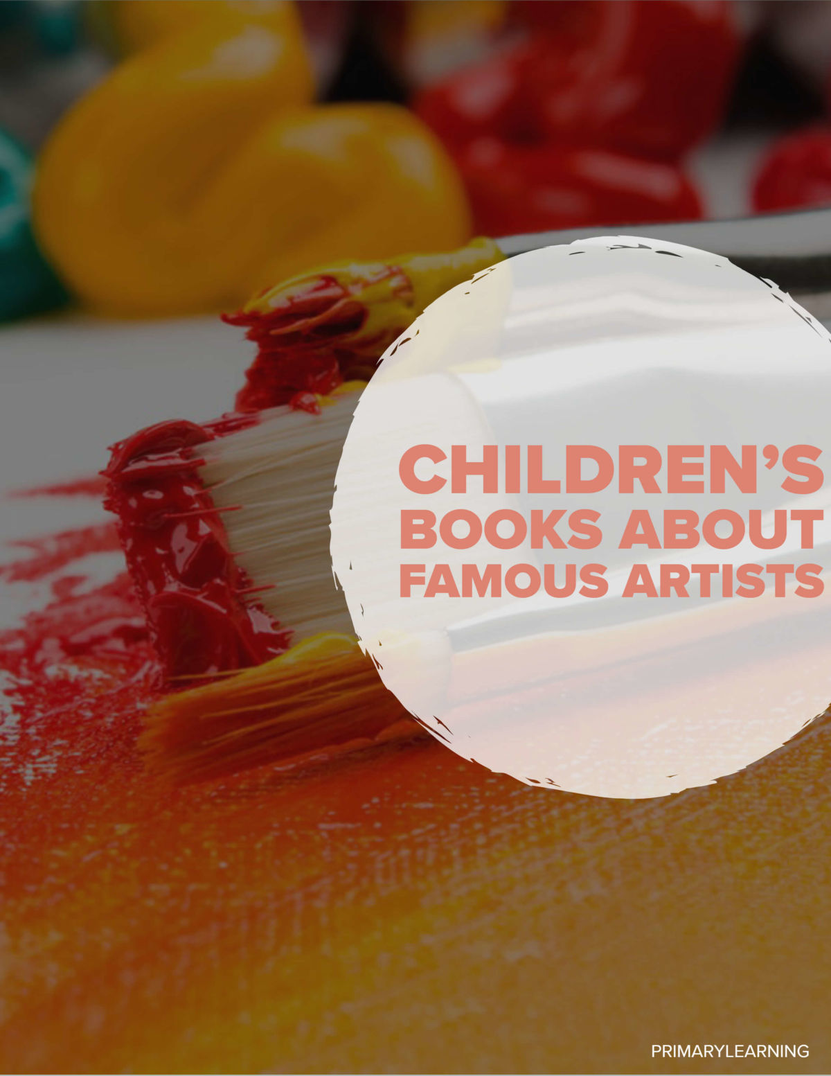 Childrens Books About Famous Artists
