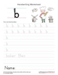 Lowercase-Letter-B