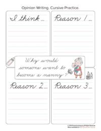 nanny opinion writing