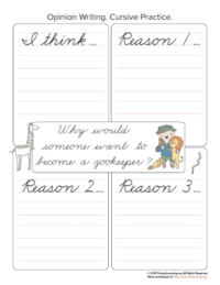 zookeeper opinion writing