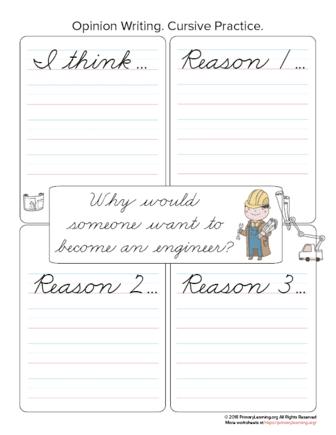 engineer opinion writing