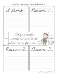 farmer opinion writing