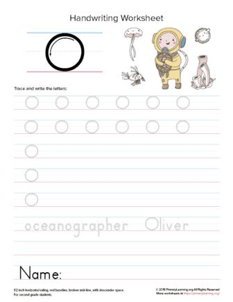 uppercase letter o