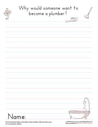 plumber writing opinion