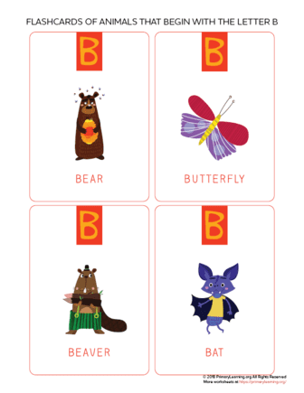 animals that begin with the letter b