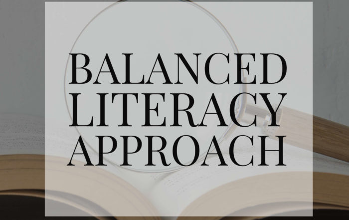 balanced literacy approach