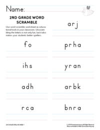 2nd grade spelling games unit 1