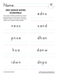 2nd grade spelling games unit 13