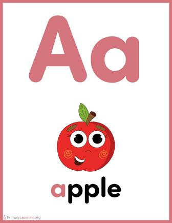alphabet letter a worksheet