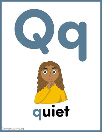 alphabet letter q worksheet