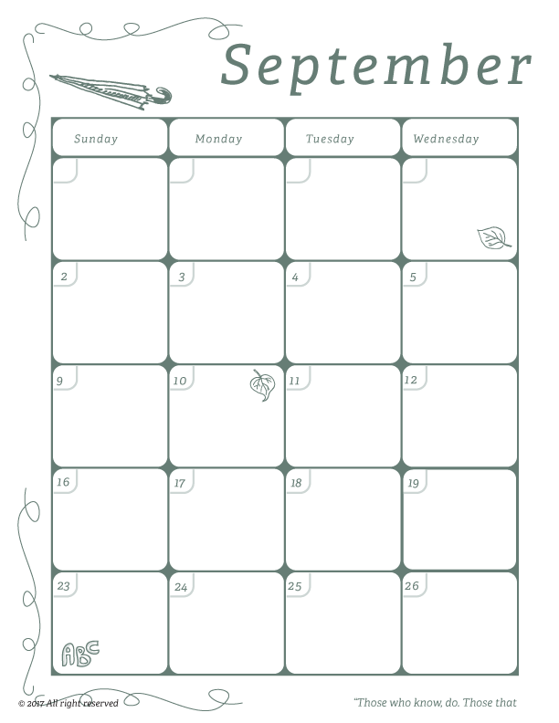 photo relating to Free Printable Calendars for Teachers named Clroom Calendar for Lecturers