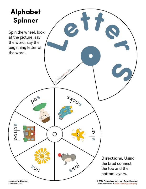 letter s wheel spinner