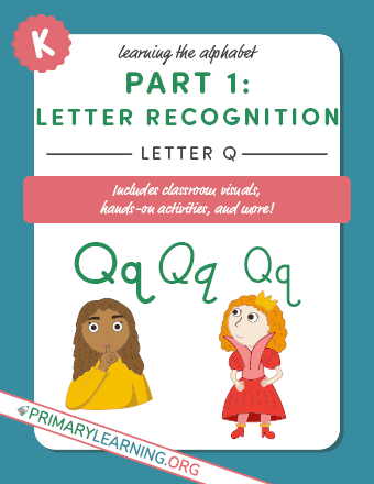 letter q printable template